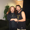 with Gary Rossington