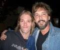 with Taylor Hawkins - Foo Fighters