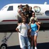 tbe band and Montrose and the Cabo Wabo plane